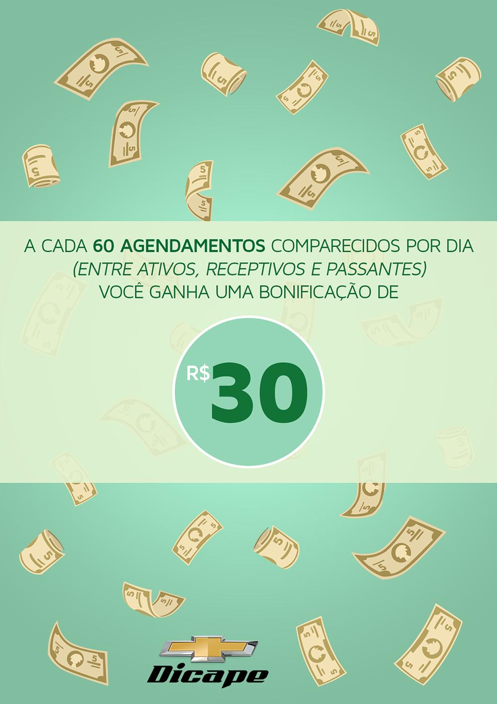 Dicape 30 reais