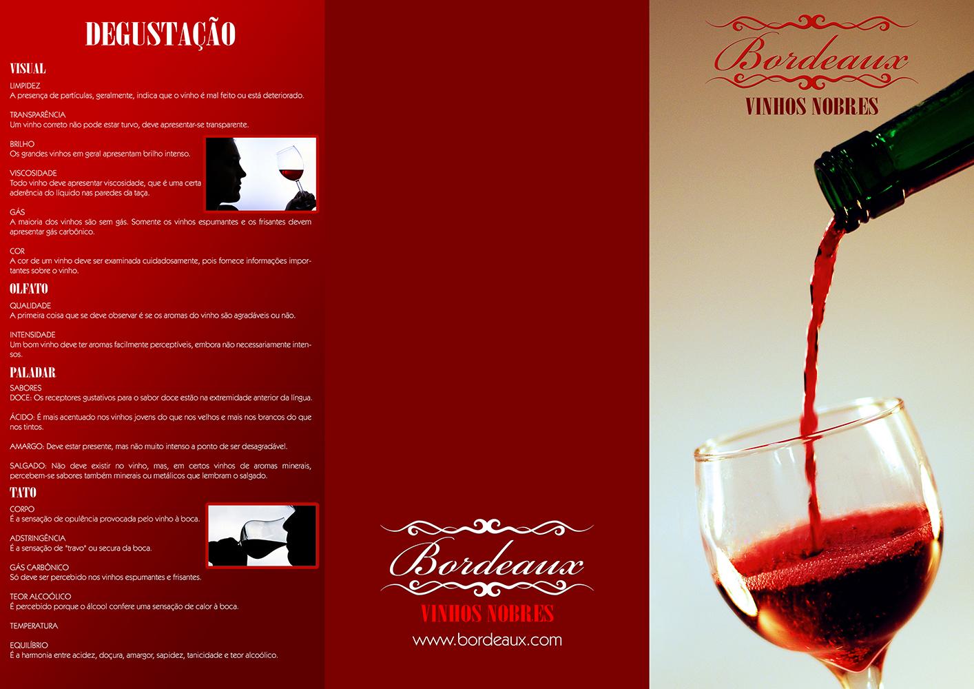 Folder Vinho